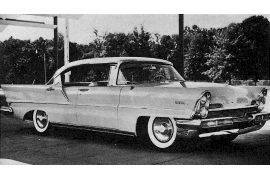 1957 Lincoln Premiere Landau Pillarless Sedan
