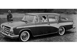 1957 Rambler Custom V8 four-door Sedan
