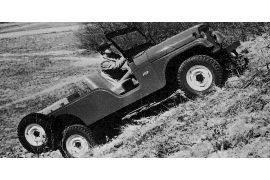 1957 Willys Jeep Model CJ6