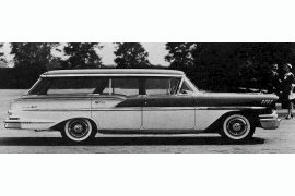 1958 Chevrolet Nomad four-door Station Wagon