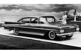 1959 Chevrolet Series 1500 Bel Air Sedan