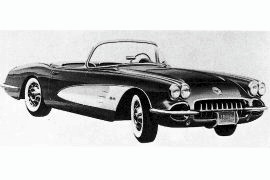 1959 Chevrolet Corvette Sports Roadster