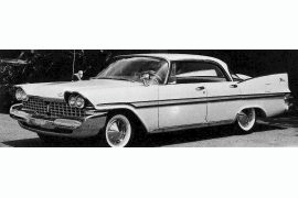 1959 Plymouth Fury four-door Hardtop Sedan