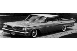1959 Pontiac Catalina Vista four-door Hardtop