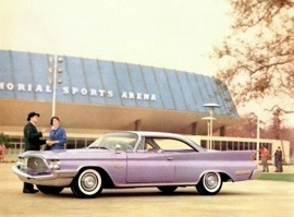 1960 Chrysler New Yorker Hardtop