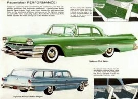 1960 DeSoto Diplomat Club Sedan and Station Wagon