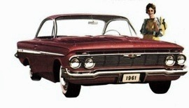 1961 Chevrolet Impala SS Sport Sedan 2 Door