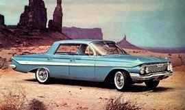 1961 Chevrolet Impala SS Sport Sedan 4 Door