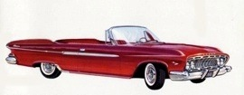 1961 Dodge Dart Phoenix Convertible