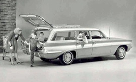 1961 Oldsmobile F-85 DeLuxe Wagon