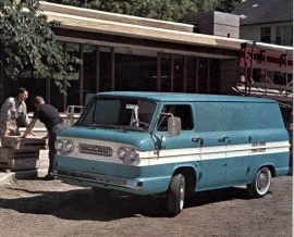 1962 Chevrolet Corvair 95 Van