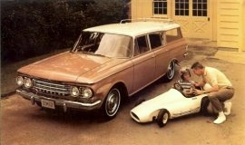1962 Rambler Classic 6 Cross Country Station Wagon