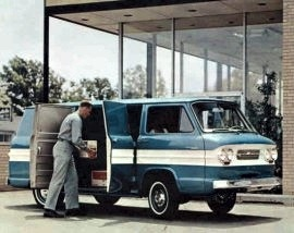 1963 Chevrolet Corvair 95 Van