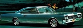 1965 Oldsmobile Dynamic 88 Holiday Coupe