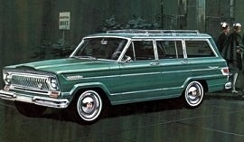 1966 Jeep Wagoneer Custom