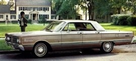 1966 Mercury Park Lane 4 Door