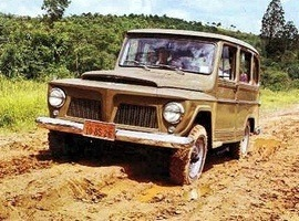 1966 Willys Rural (Brazil Market)