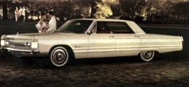 1967 Imperial Crown 4 Door Hardtop