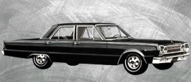 1967 Plymouth Belvedere 2 Sedan