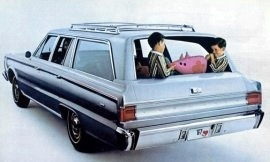 1967 Plymouth Belvedere II Wagon