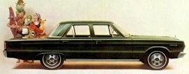 1967 Plymouth Belvedere I 4 Door