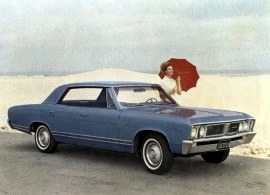 1967 Pontiac Acadian Beaumont 4 Door