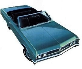 1967 Pontiac Acadian Beaumont Convertible