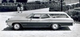 1967 Pontiac Executive Wagon 3 Seat