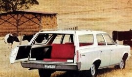 1968 AMC Rambler Rebel Wagon