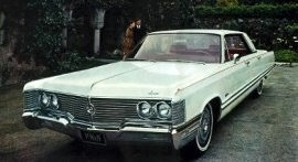1968 Imperial Crown 4-Door Hardtop