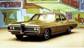 1968 Pontiac Catalina 4 Door Sedan