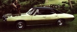 1968 Pontiac LeMans Luxury 4 Door
