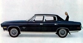 1970 AMC Ambassador 4 Door