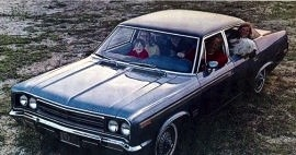 1970 AMC Rebel 4 Door