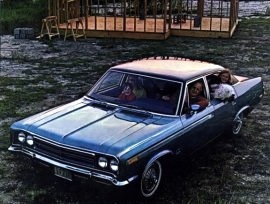 1970 AMC Rebel SST 4 Door