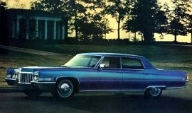 1970 Cadillac Fleetwood Sixty Special