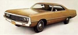 1970 Chrysler Newport Cordoba