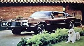 1970 Ford Thunderbird Brougham Coupe
