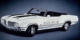 1970 Oldsmobile 442 Convertible Pace Car