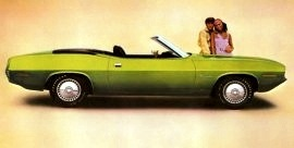 1970 Plymouth Barracuda Convertible