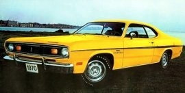 1970 Plymouth Duster 340 Coupe