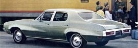 1971 Buick Skylark 4 Door Sedan