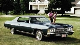 1971 Chevrolet Caprice Custom Coupe