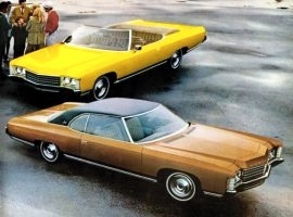 1971 Chevrolet Impala Convertible and Coupe