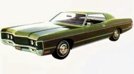 1971 Mercury Monterey Coupe