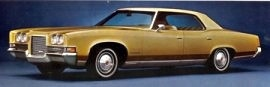 1971 Pontiac Bonneville Sedan