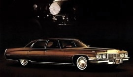 1972 Cadillac Fleetwood 60 Special Brougham