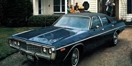 1972 Dodge Coronet Custom 4 Door Sedan