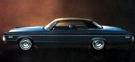 1972 Dodge Polara Custom Hardtop 4 Door
