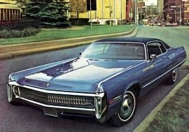 1972 Imperial LeBaron 2 Door